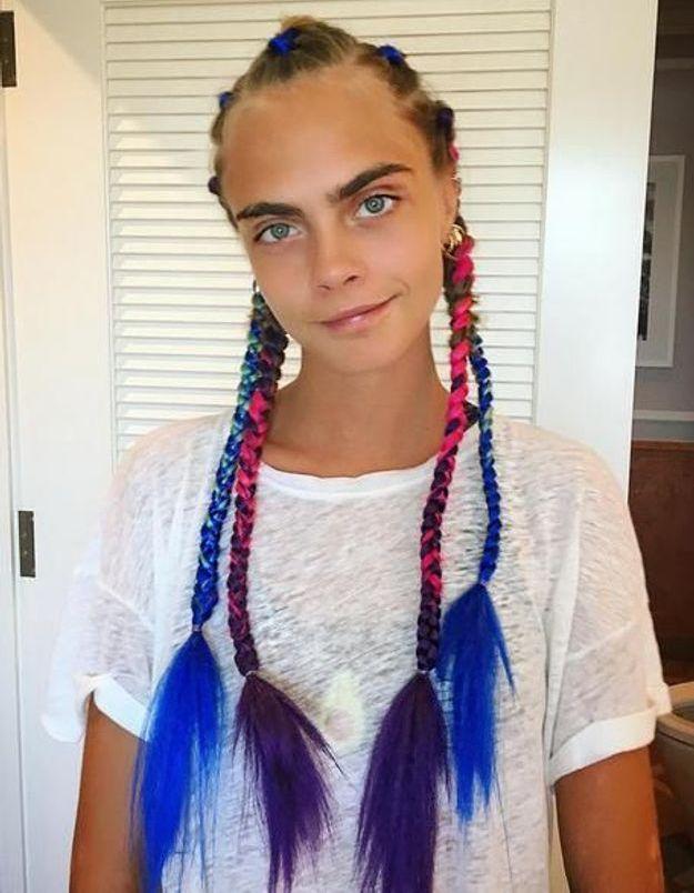 Burning Man braids : Poppy et Cara Delevingne se lâchent