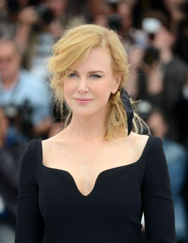 Cannes 2013 : on aime le coiffé-décoiffé de Nicole Kidman