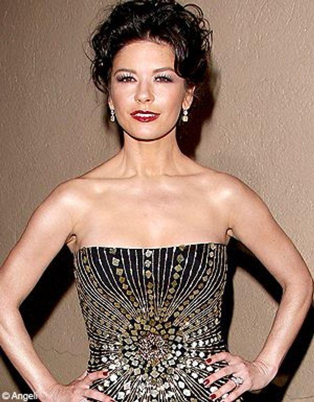 Catherine Zeta-Jones nous révèle ses secrets de beauté