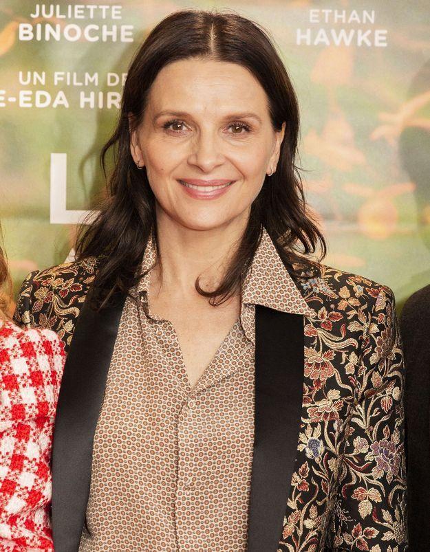 Juliette Binoche au naturel : son astuce pour une peau pleine de santé en hiver