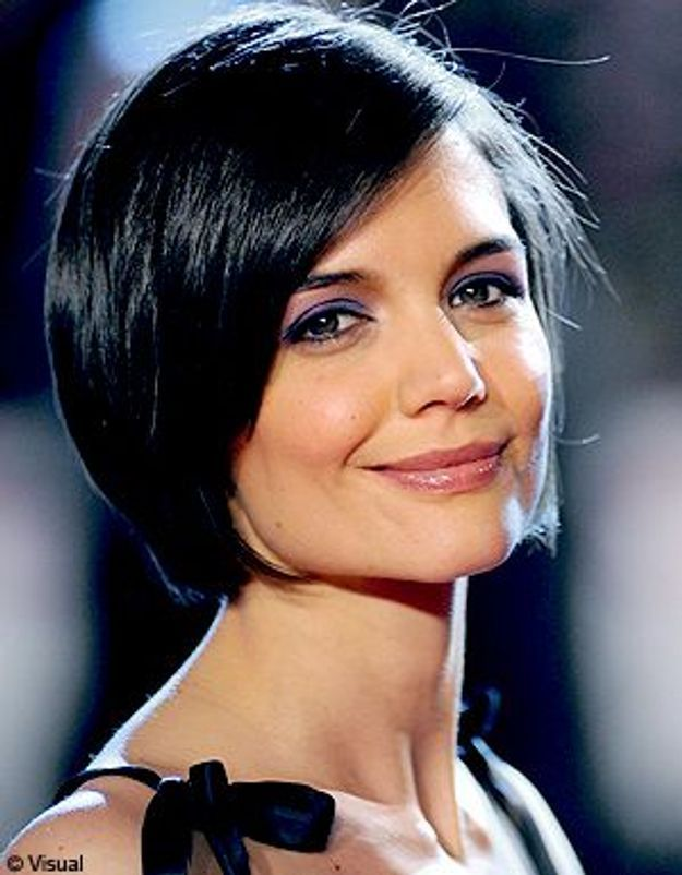 Katie Holmes change de coupe et passe… au long !