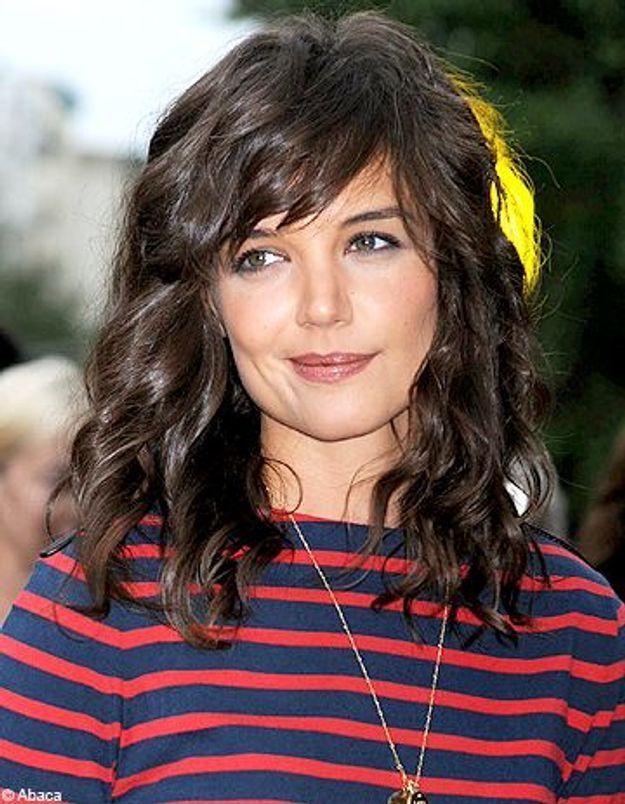 Katie Holmes dévoile sa nouvelle coupe de cheveux
