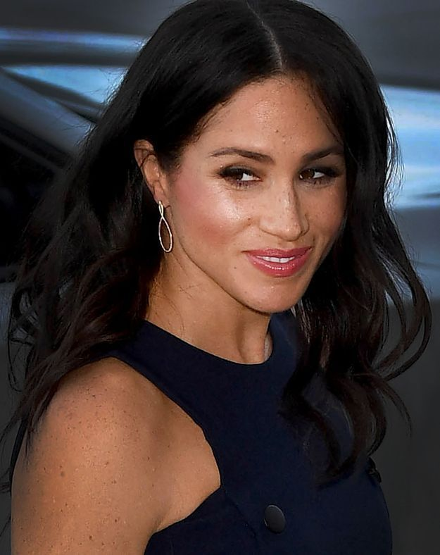 Meghan Markle et son brushing