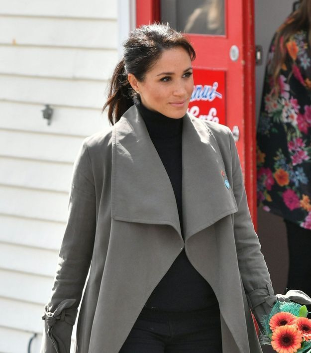 Meghan Markle et sa queue-de-cheval