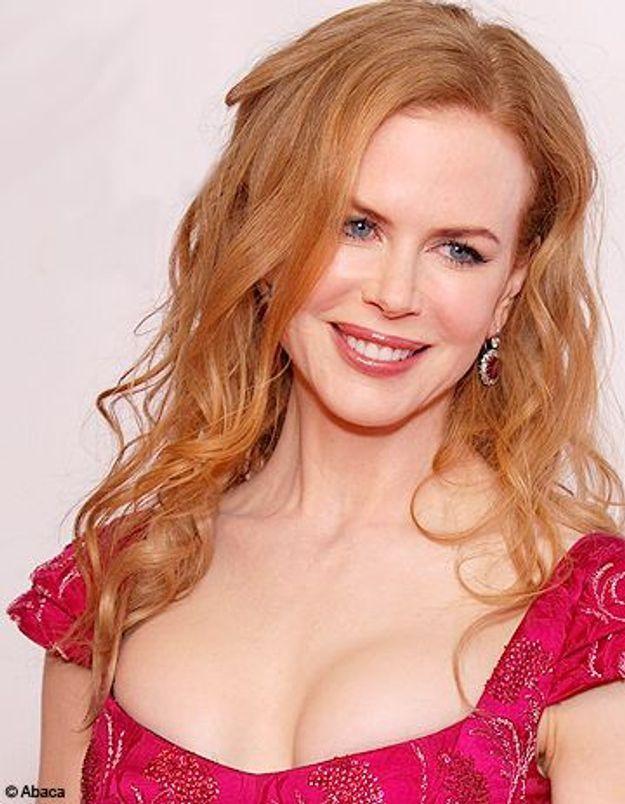 Nicole Kidman, de nouveau rousse
