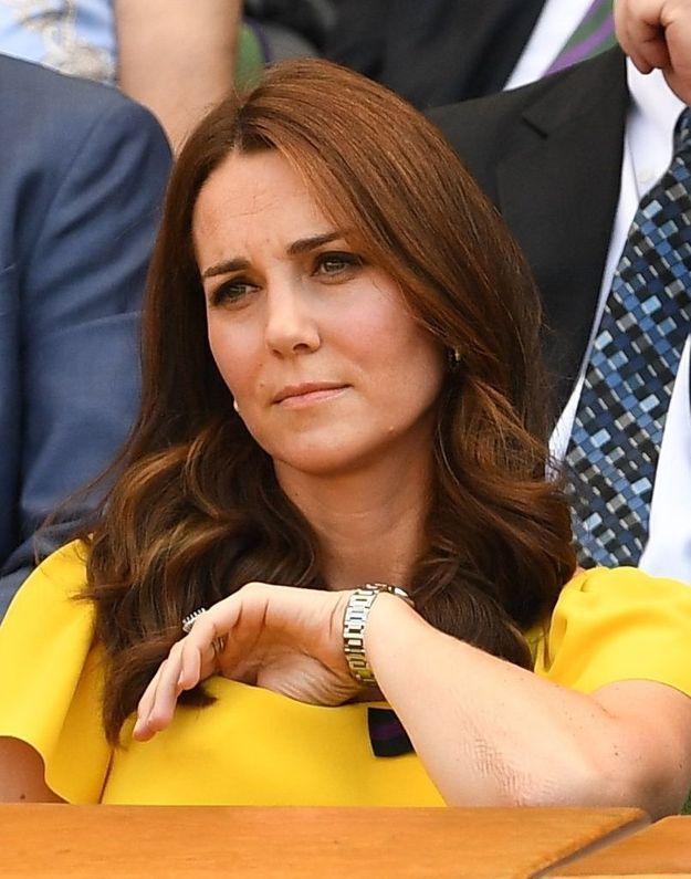 On sait pourquoi Kate Middleton ne s'attache jamais les cheveux