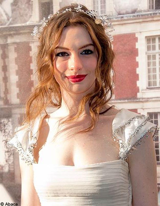 On veut toutes le Beauty Look de: Anne Hathaway