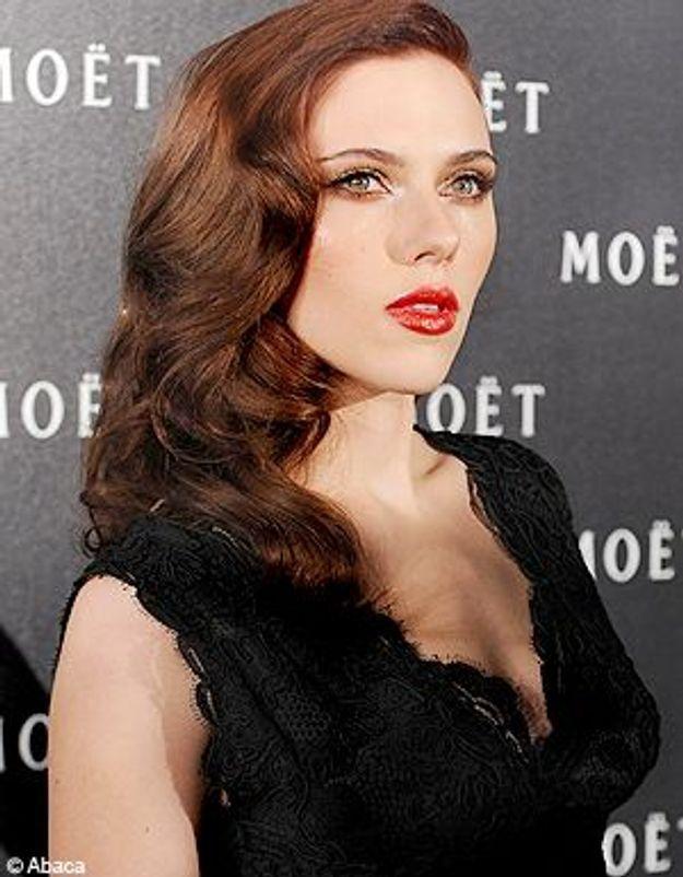 Scarlett Johansson est red dingue de… son roux !