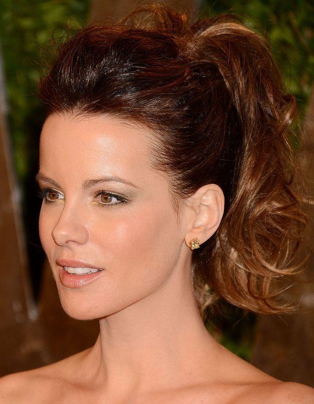 Coup de cœur coiffure : la queue de cheval de Kate Backinsale