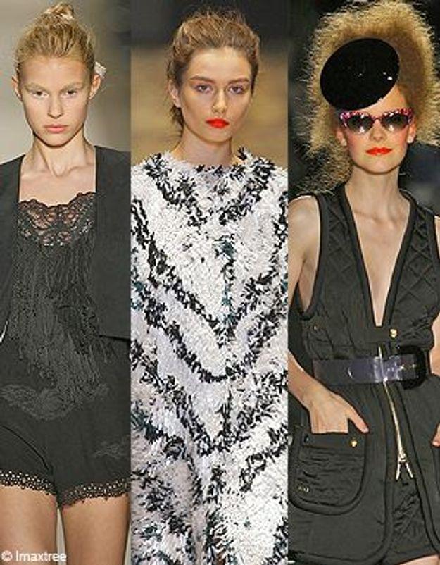 Fashion Week Paris : en 2010, on se crêpe le chignon
