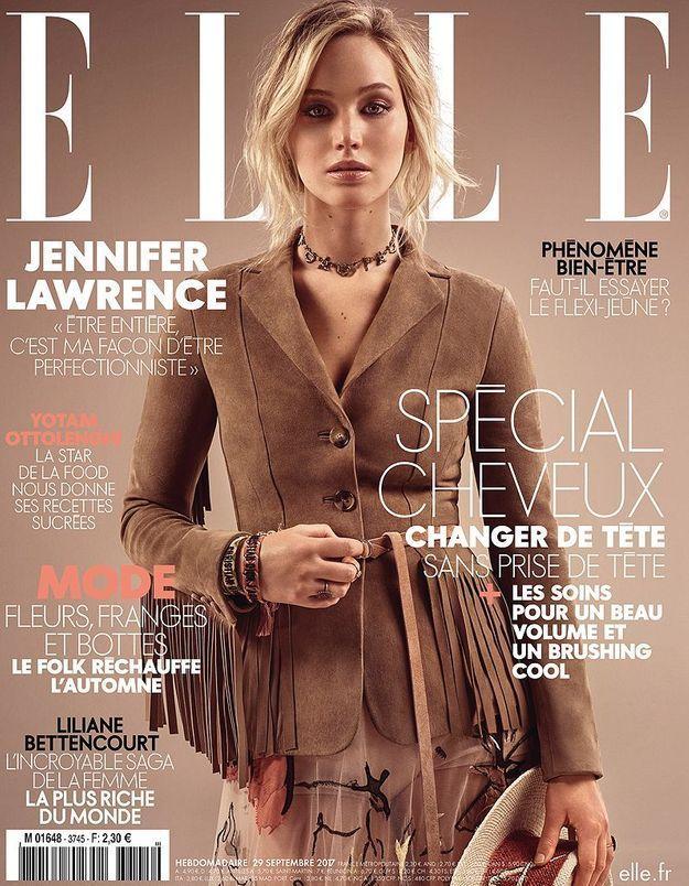 Jennifer Lawrence fait la couv de notre spécial cheveux cette semaine