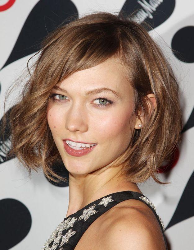 Le carré de Karlie Kloss élu it-coiffure 2013