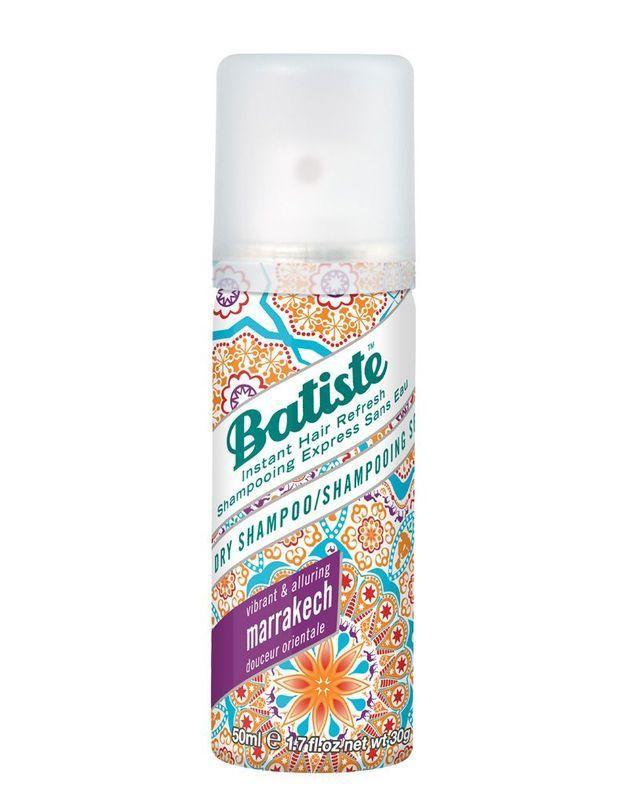 Un shampooing sec Batiste offert avec votre magazine ELLE