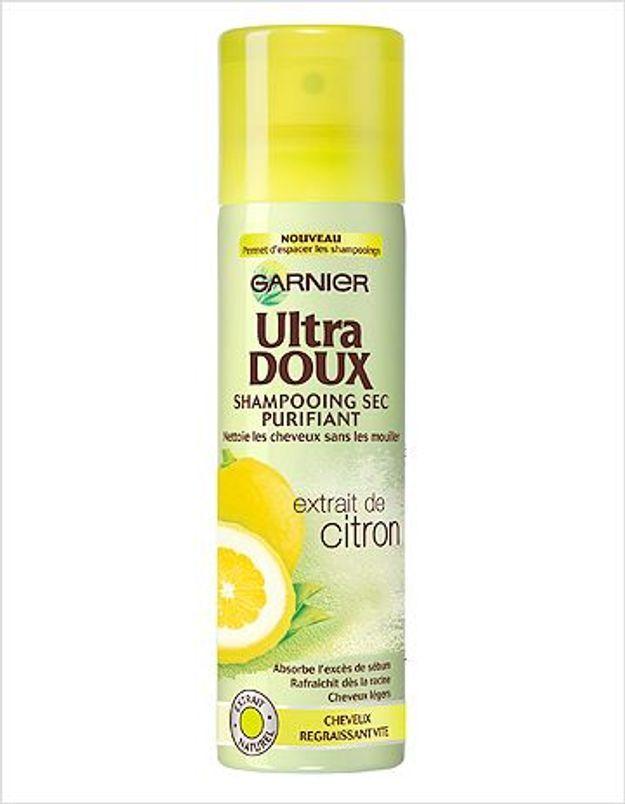 Une semaine dans ma salle de bains avec le shampooing sec purifiant Ultra Doux de Garnier