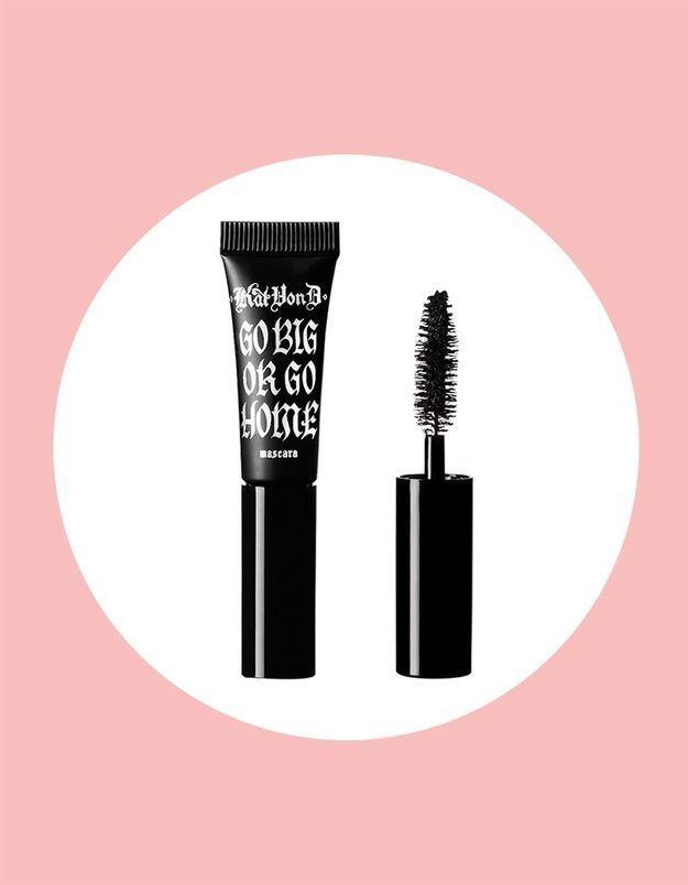 Cette semaine, votre magazine ELLE vous offre le mascara Go Big or Go Home de KVD Vegan Beauty !