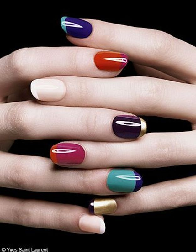 Des ongles haute couture