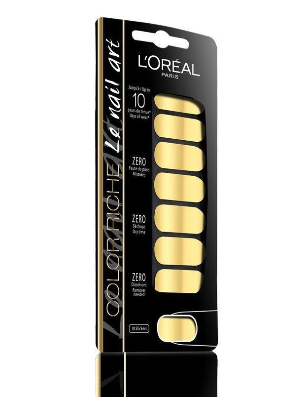 Des stickers 3D pour les ongles chez L'Oréal Paris
