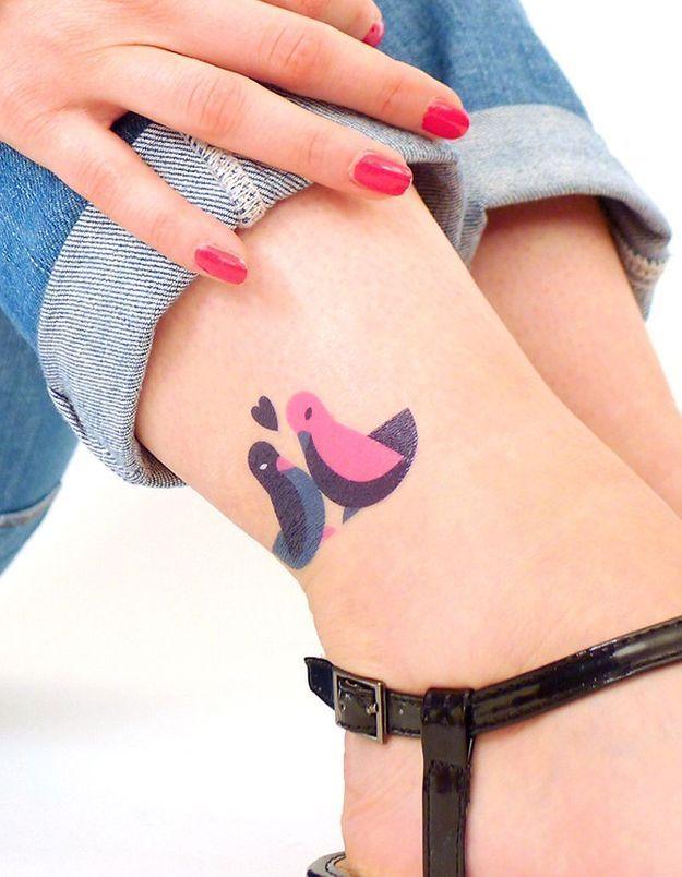 Des tattoos éphémères pour l'été