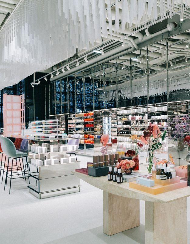 #ELLEBeautySpot : l'Espace Beauté des Galeries Lafayette Champs-Elysées