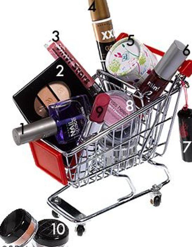 Les trésors make-up du supermarché