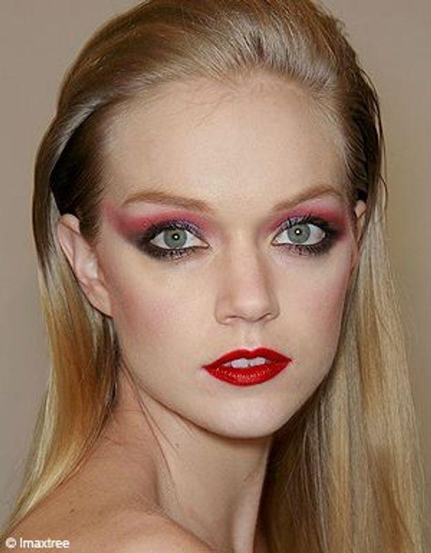 Make-up : on passe au rouge !