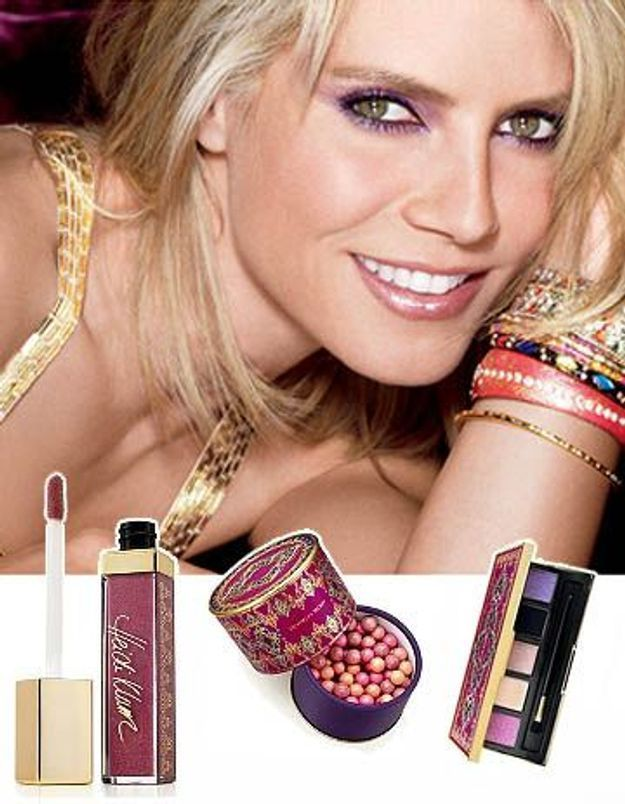 Maquillage : Heïdi Klum lance sa ligne