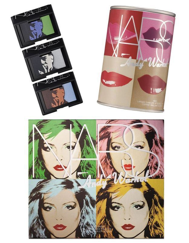 NARS lance une collection hommage à Andy Warhol