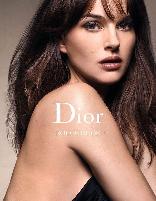 Natalie Portman, nu(d)e pour la nouvelle campagne Dior