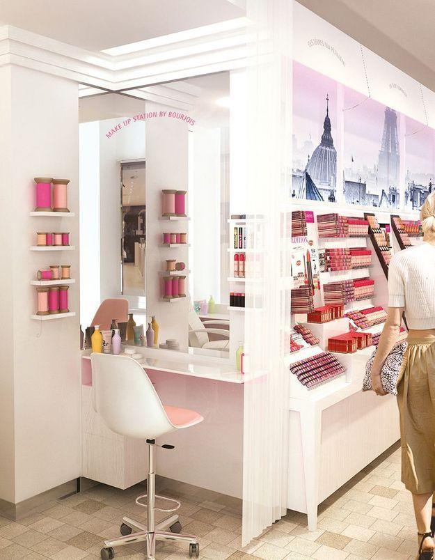 Nouveau spot beauté : la boutique-institut de Bourjois