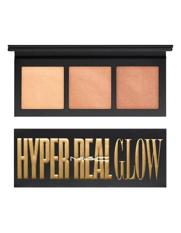 Défilé Jour/Né : la Palette Hyper Real Glow Nuances dorées M.A.C
