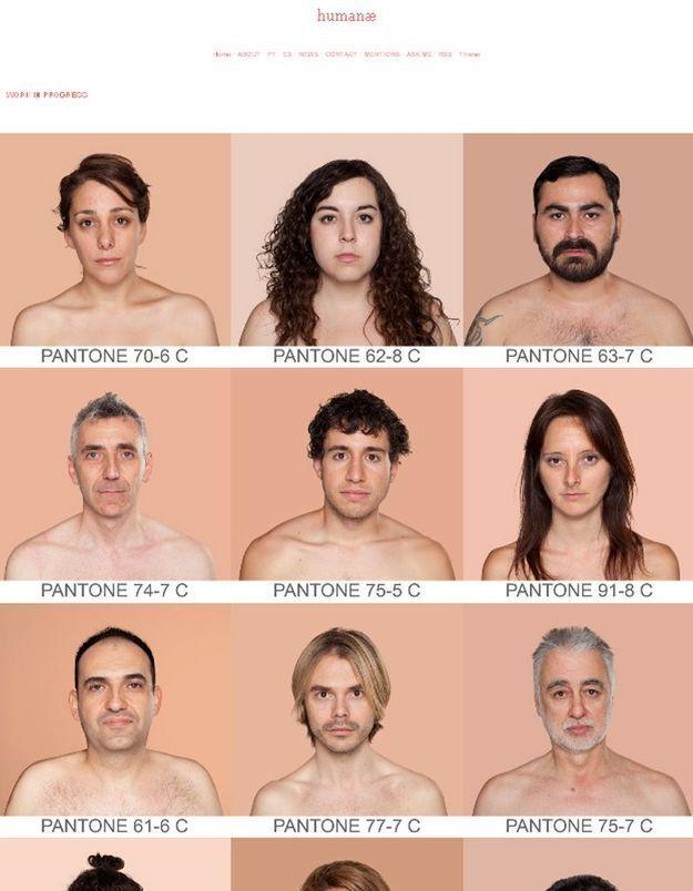 Un Inventaire Universel Des Couleurs De Peau Elle