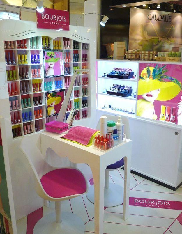 Un pop-up store Bourjois aux Galeries Lafayette
