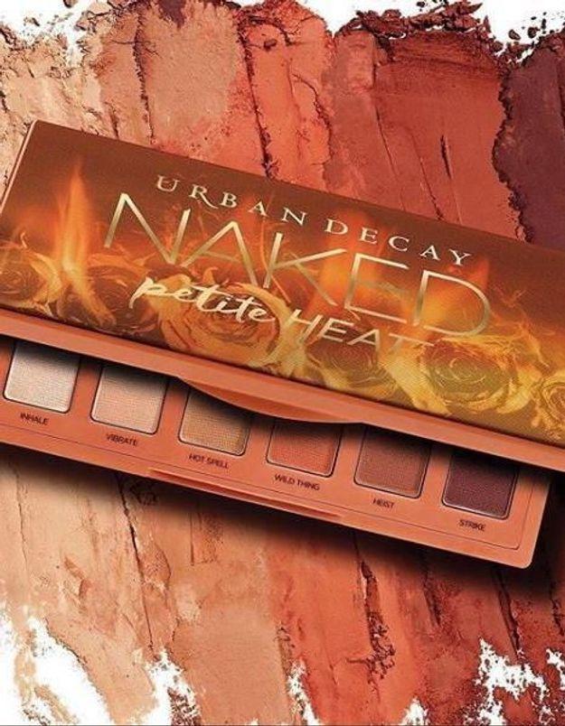 Urban Decay : sa mini palette Naked Petite Heat crée le buzz