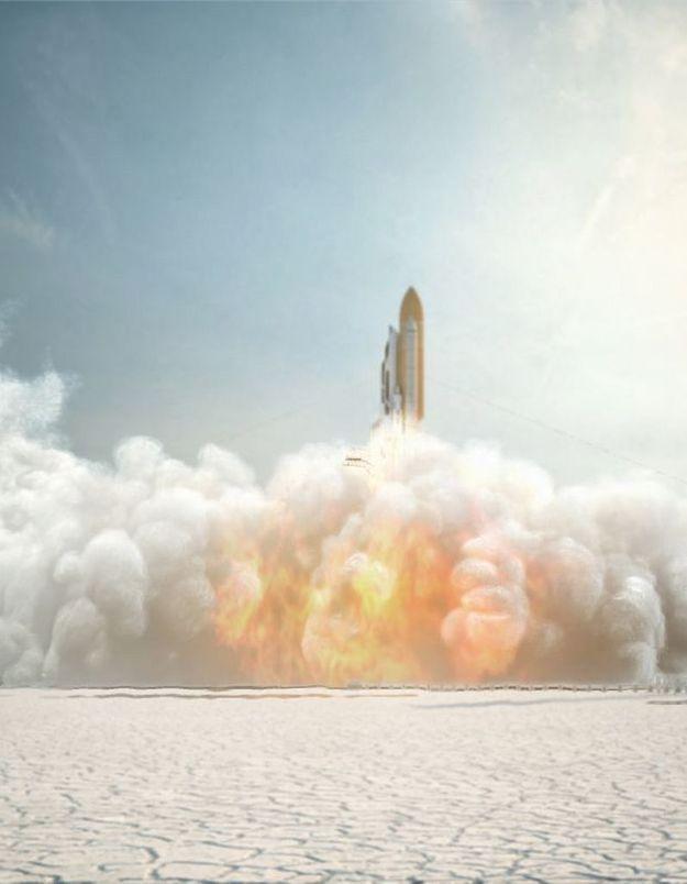 Axe envoie des hommes dans l'espace