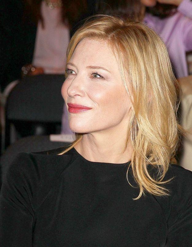 "Cate Blanchett sera le visage du nouveau parfum ""Si"" Giorgio Armani"