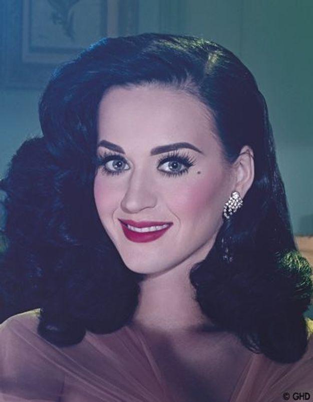 Katy Perry, nouvelle égérie de GHD
