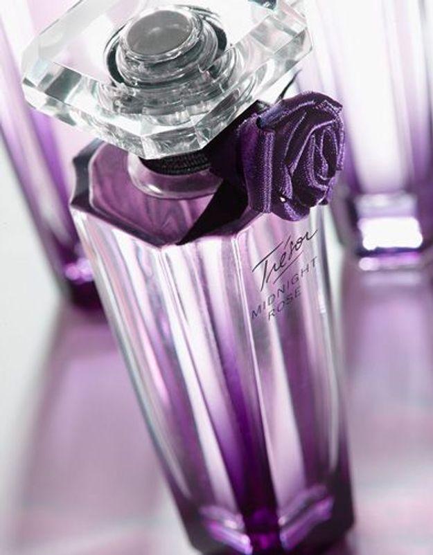 « Trésor Midnight Rose », le nouveau parfum Lancôme