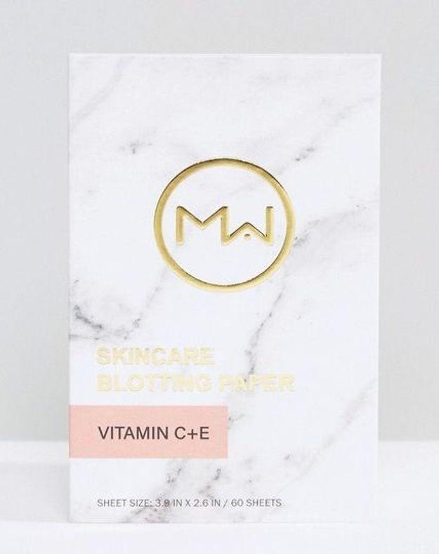 Papier matifiant à la vitamine C & E, Mai Couture