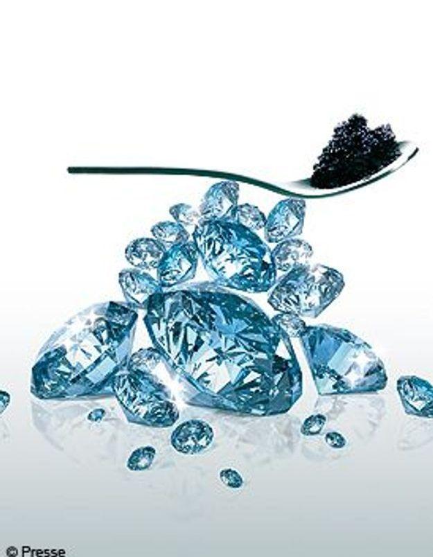 Beauté au caviar et diamant