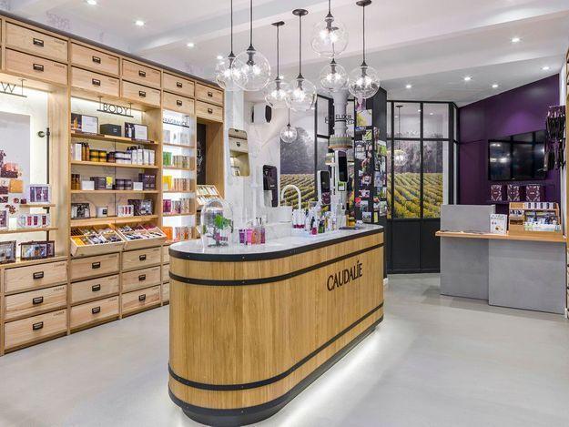 #ELLEBeautySpot : la nouvelle boutique Caudalie