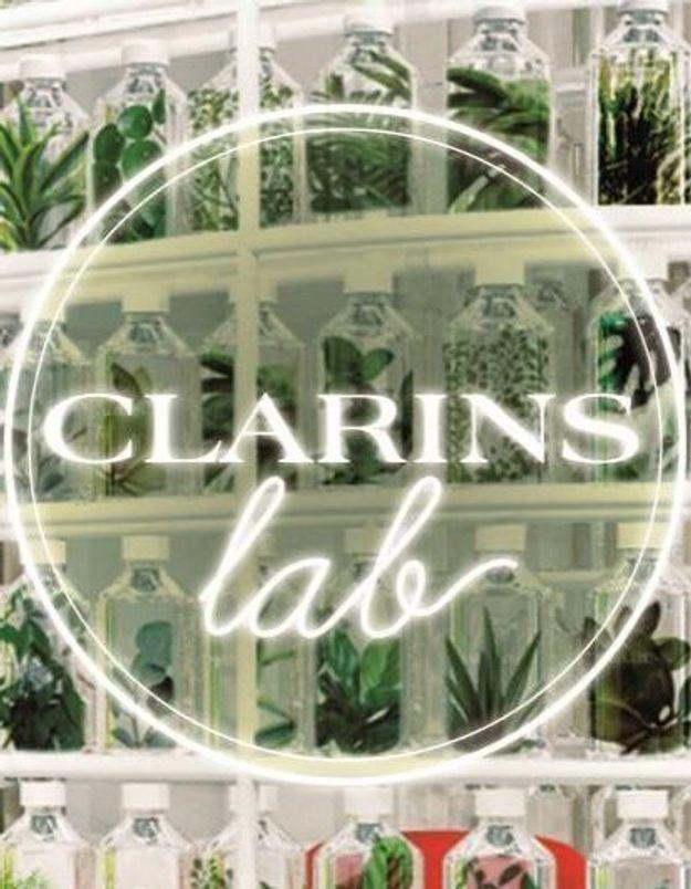 #ELLEBeautySpot : Clarins Lab, un premier pop-up store inédit