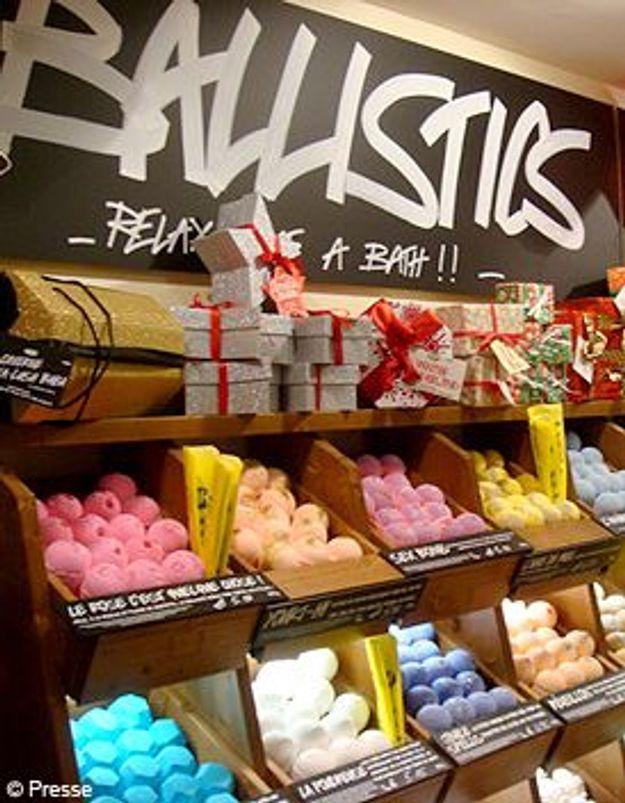 Nouvelle boutique Lush à Paris
