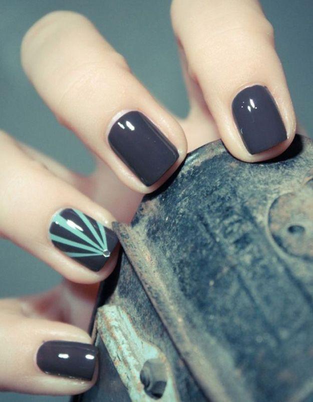 Manucure printemps nail art