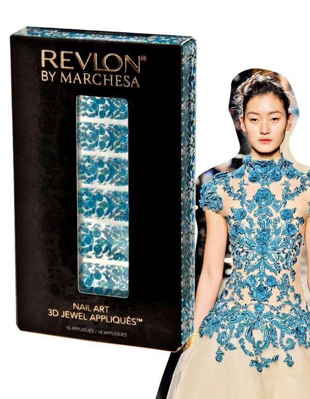 Les nail patchs Revlon x Marchesa : « l'ultime accessoire de mode »