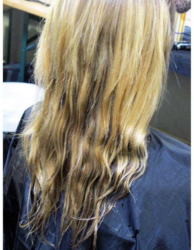 12-Dénouer les nattes et laisser les cheveux libres