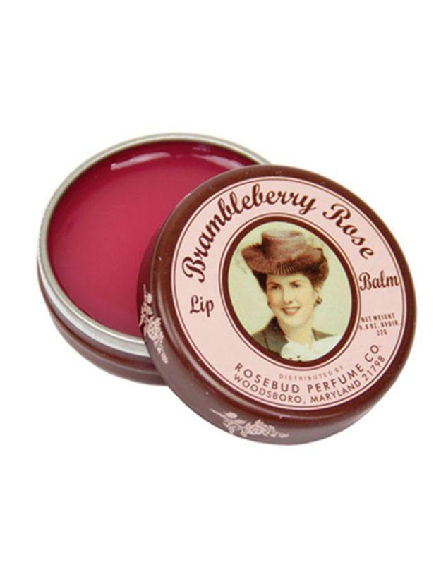 Brambleberry Rose Lip Balm, Rosebud Salve