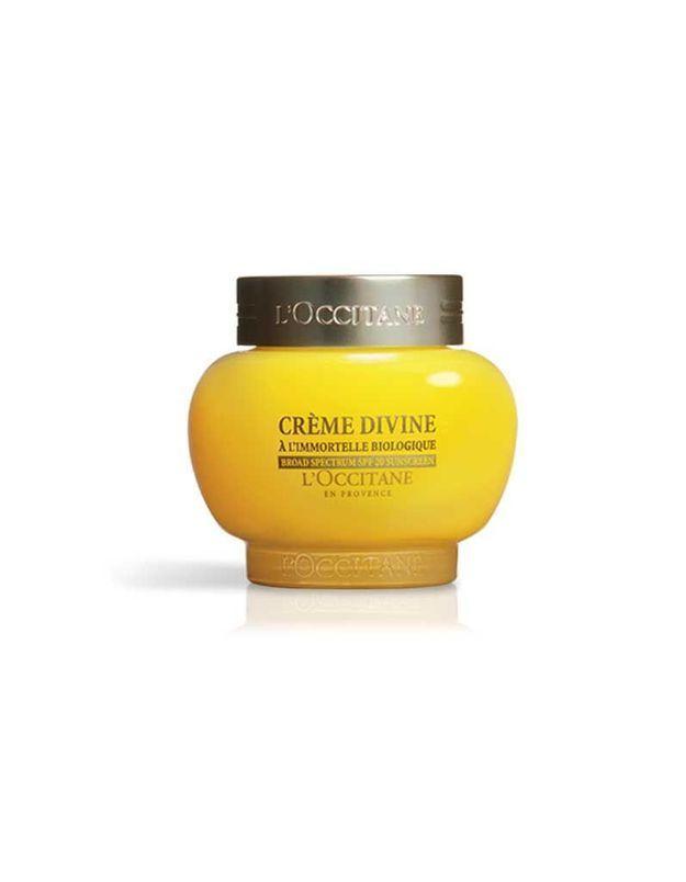 Immortelle Crème Divine, texture légère, L'Occitane, 84 €