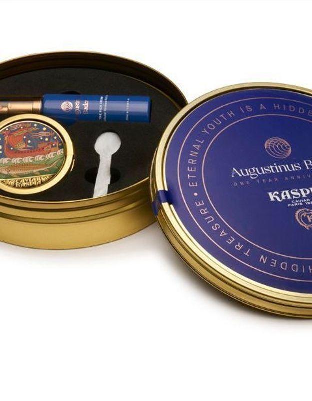 ELLEBeautyCrush : Le coffret « Eternal Youth » de Caviar Kaspia et Augustinus Bader