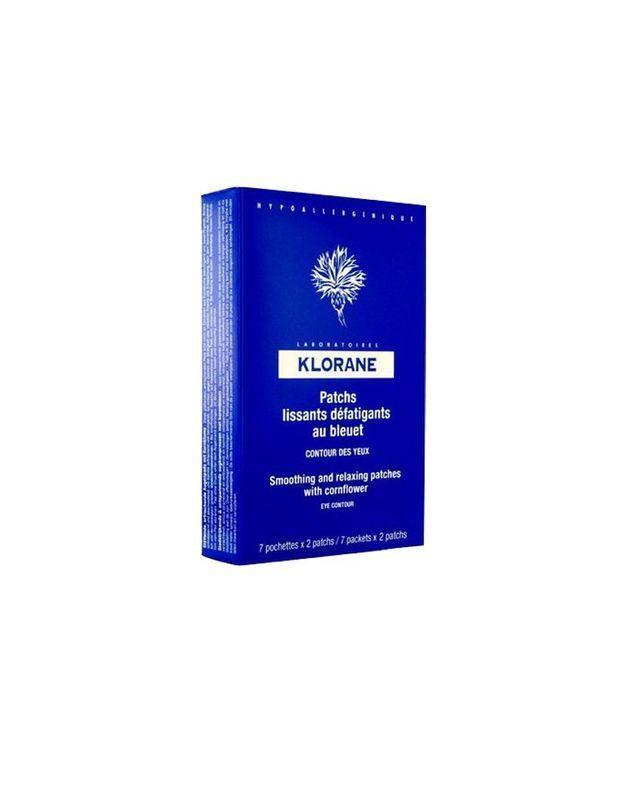 Patchs bleuet, Klorane, 10,90 € les 7 paires
