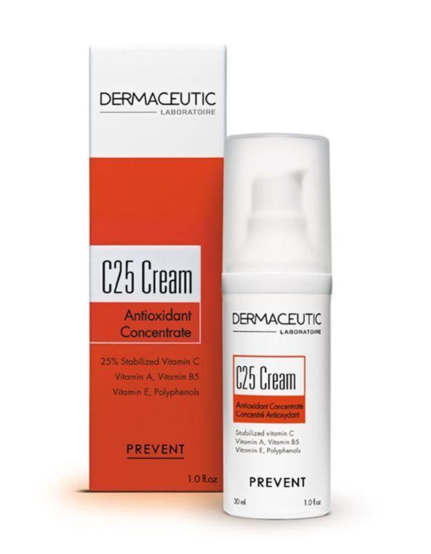C25 Cream Concentré d'Anti-Oxydant, Dermaceutic